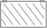 Ersatzscheiben für Glastüren ohne Rahmen 990x450x8