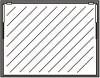 Einbausatz Klapptür 1-teilig in Rahmen 570 x 980
