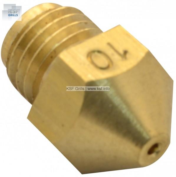 Gasdüse Ø 0,8 mm Propan 30 mbar