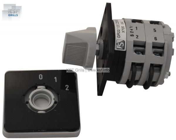 Elektroschalter 0-1-2