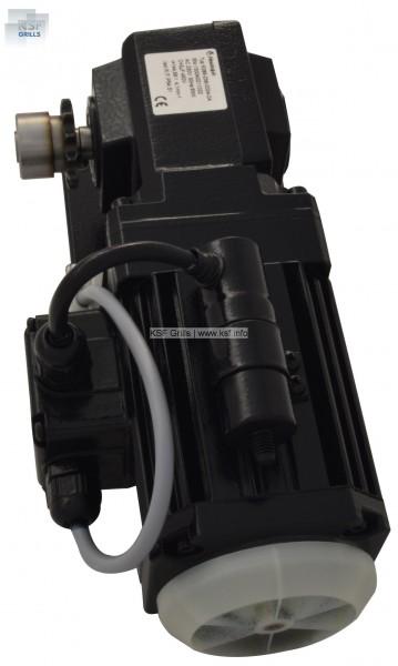 Grill-Motor mit Bremse, Getriebe und Kondensator für Safari