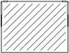 Einbausatz Klapptür 1-teilig rahmenlos 570 x 990