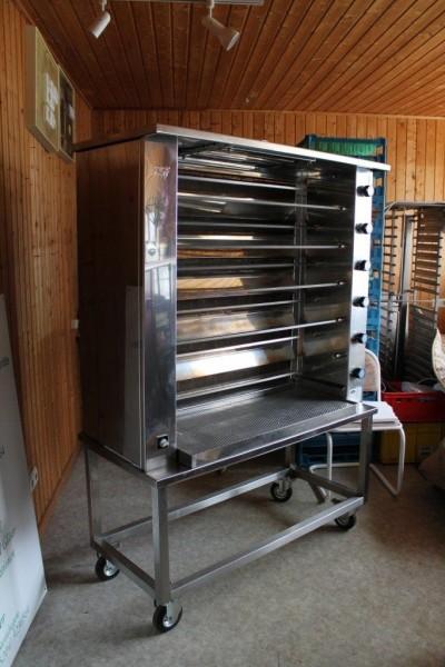 gebrauchter Hähnchengrill Typ München 6 BG - Im Kundenauftrag