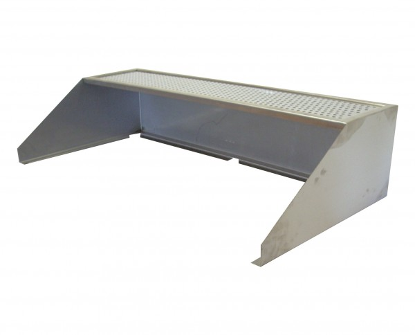 Windschutz / Spritzschutz mit Ablage für RGS 145