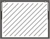 Einbausatz Klapptür 1-teilig in Rahmen 740 x 980